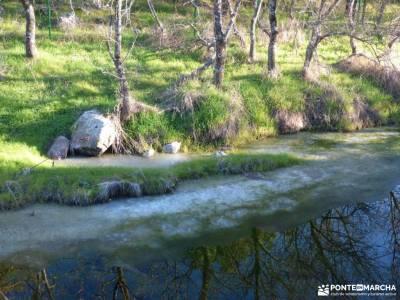 Cañadas, molinos del Río Perales; itinerarios madrid rutas verdes zapatos senderismo